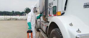 La nueva Amerisur sigue reforzando medidas para prevenir el contagio del COVID-19 en el bloque Platanillo