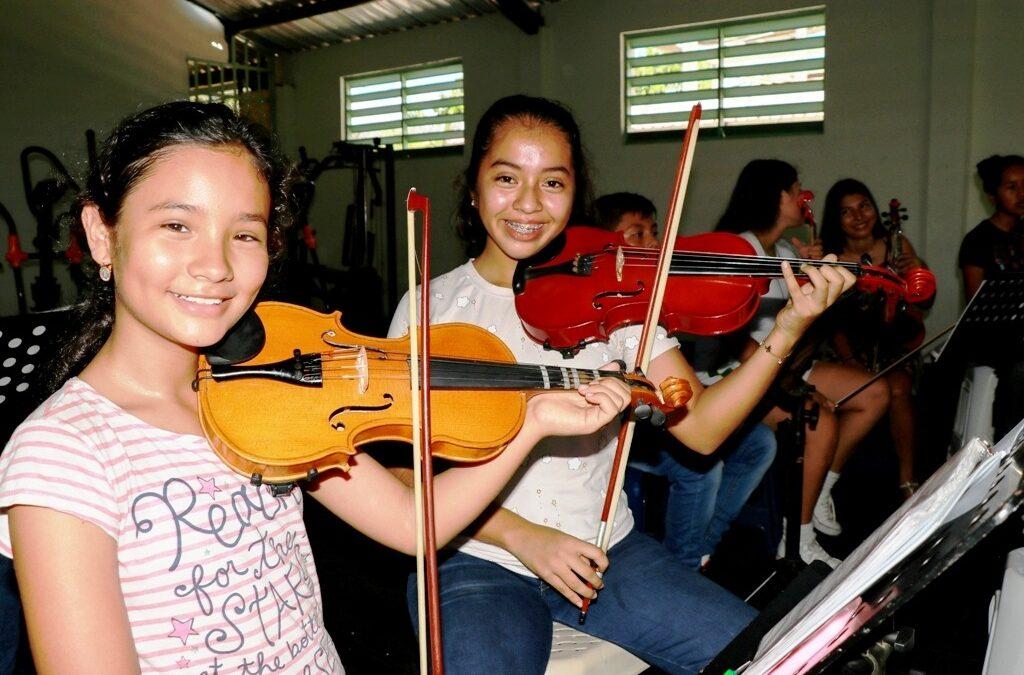La Fundación Nacional Batuta y la nueva Amerisur promueven la formación musical de 80 niños, niñas y adolescentes del Putumayo