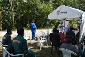 La nueva Amerisur apoya jornada de vacunación en Puerto Asís